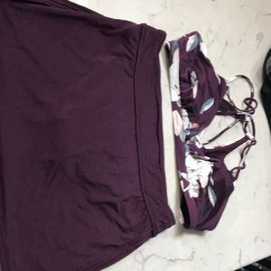 Athleta Swimsuit (Swim skirt and Bikini top)